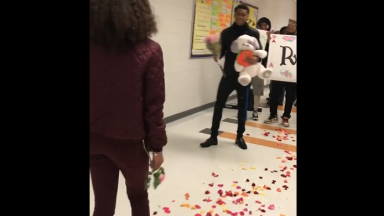 Too Cute: Kid Pulls Out All The Stops And Asks His Girl To Prom