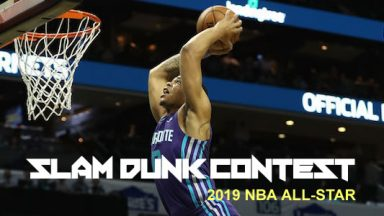 Every Dunk From The 2019 NBA Dunk Contest!