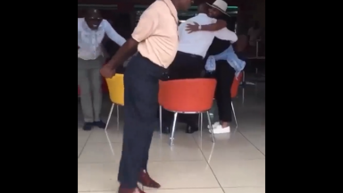 Smooth: Man Shows Off His Impressive Footwork