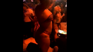 Azz Everywhere: Booty Flying Everywhere During Stripper Brawl!