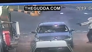 Overkill: Dude Gets Executed At A Gas Station After Arguing With The Wrong Ones!