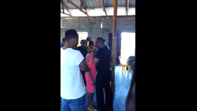 Pastor Kisses Girl In The Name Of Deliverance In Full View Of The Entire Church Congregation!