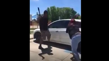 Dude Pulls Gun On Woman For Scamming Him Out Of An Apartment, Then Throws Haymakers At Her!