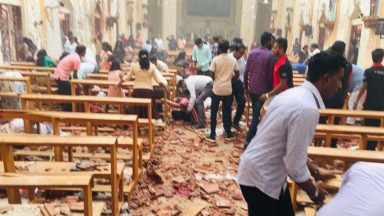 At Least 138 Dead And More Than 560 Injured In 3 Churches And 2 Hotels Explosions In Sri Lanka!