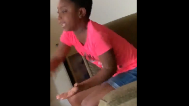 Girl Throws A Tantrum After Her Mother Spent The Child Support Money On Bills Instead Of Giving It To Her!