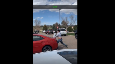 Not So Tough Out Your Car: E-Thug Calls A Dude A Terrorist And Gets His Azz Beat!
