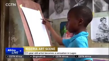 The true definition of an Art Prodigy.....He is just 11..........