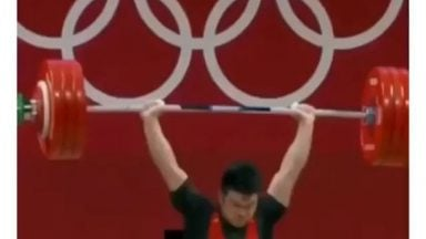 He has gold if he liftted 192 but went for world record just to prove a point