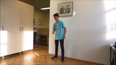 The most finger snaps in a minute is 334 and was achieved by Niclas Nadasd